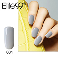 Elite99 10ml Gelpolish Nail Gel Polish UV LAMP Needed Granny Gray Series Vernis Semi Permanent Polish Pick 1 UV Nail Varnish