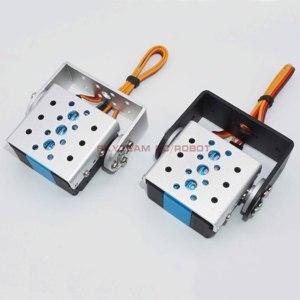 Image 5 - RDS3235 35kg Telaio Opzionale Coreless Cassa del Metallo In Acciaio Inox Gear Standard Dual Alberi Asse Arduino Robot Servo UAV Aereo