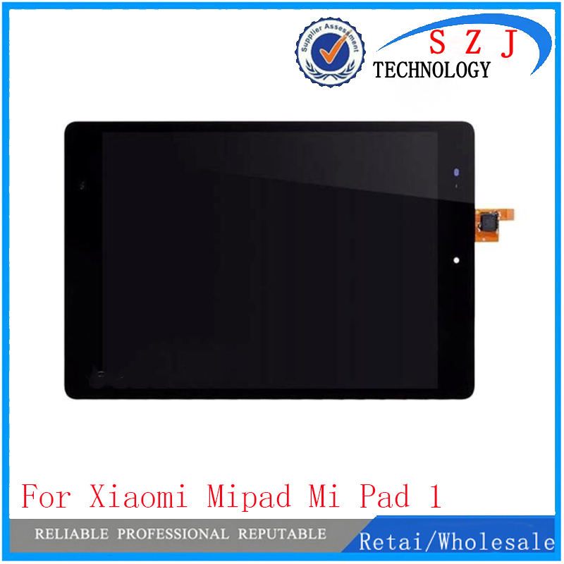 New 7.9 Inch Panel For Xiaomi Mi pad 1 Tablet touch screen digitizer lcd display assembley Tablet PC Replacement Parts new black 7 9 inch panel for xiaomi