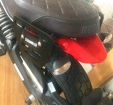 1 PC bolsas de sillín de motocicleta soportes de montaje bolsa lateral soporte negro para Ducati Scrambler