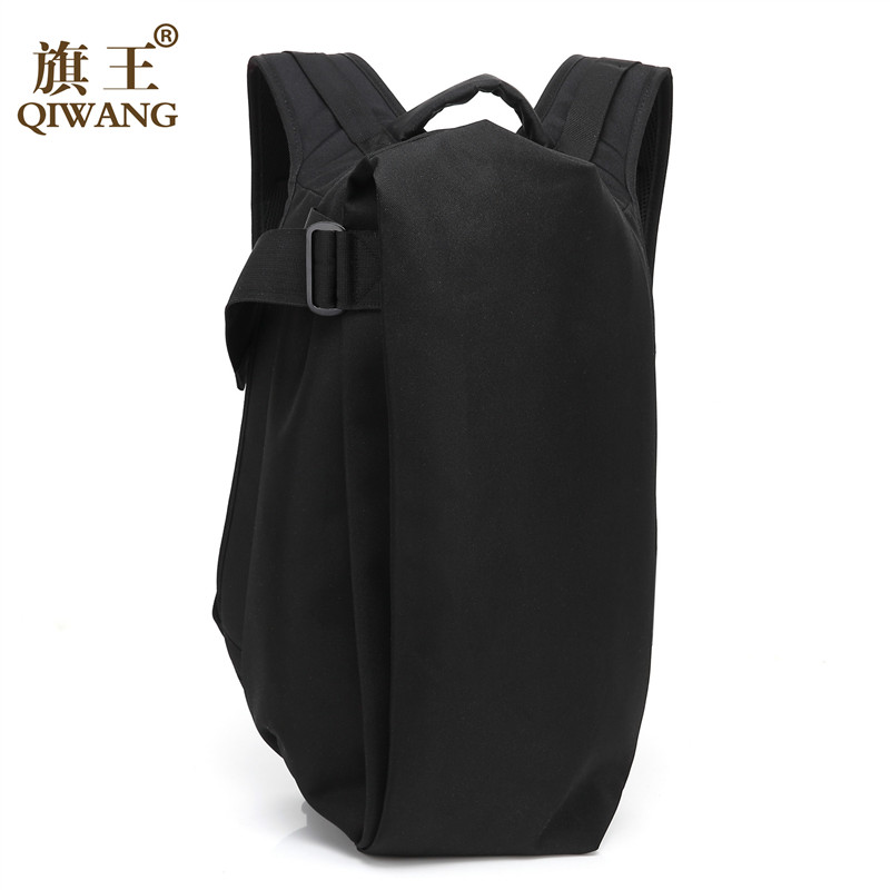 Qi Wang Fashion Laptop Korean Backpack For Men Travel Pack Bag Large Capacity Anti-theft Rucksack School Bag Casual Waterproof edgy trendy casual canvas backpack men large capacity simple backpack fashion hook buckle travel bag durable rucksack