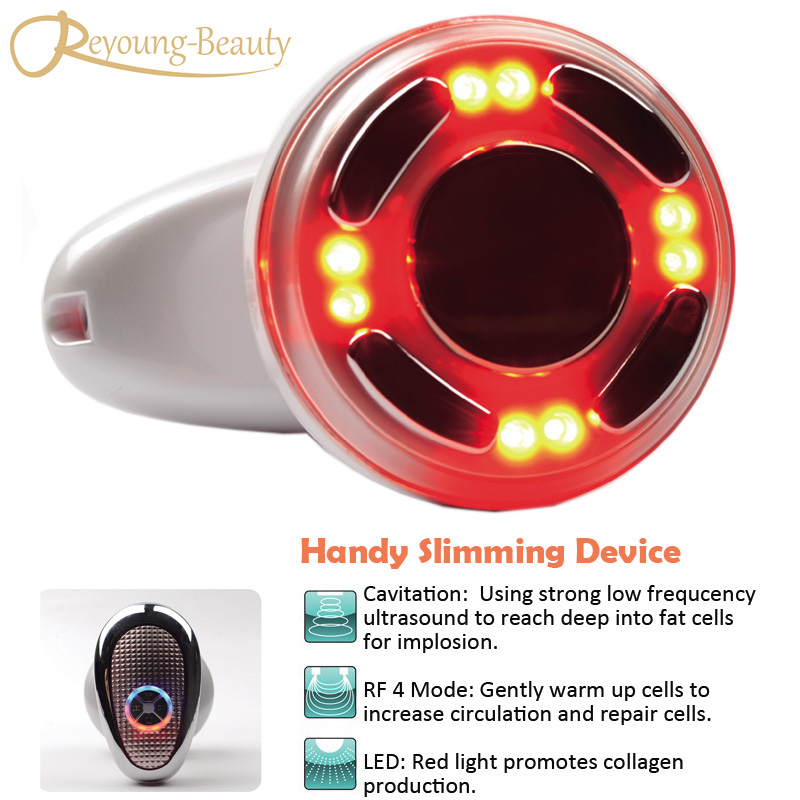 Ultrasonic Therapy 330KHZ Ultrasound RF Cavitation Radio Frequency Fat Melting Body Slimnming Skin Lifting Tightening Massager 3 in 1 ultrasonic rf cavitation vacuum liposuction cellitule wrinkle fat reduction body sculpting slimming massager machine