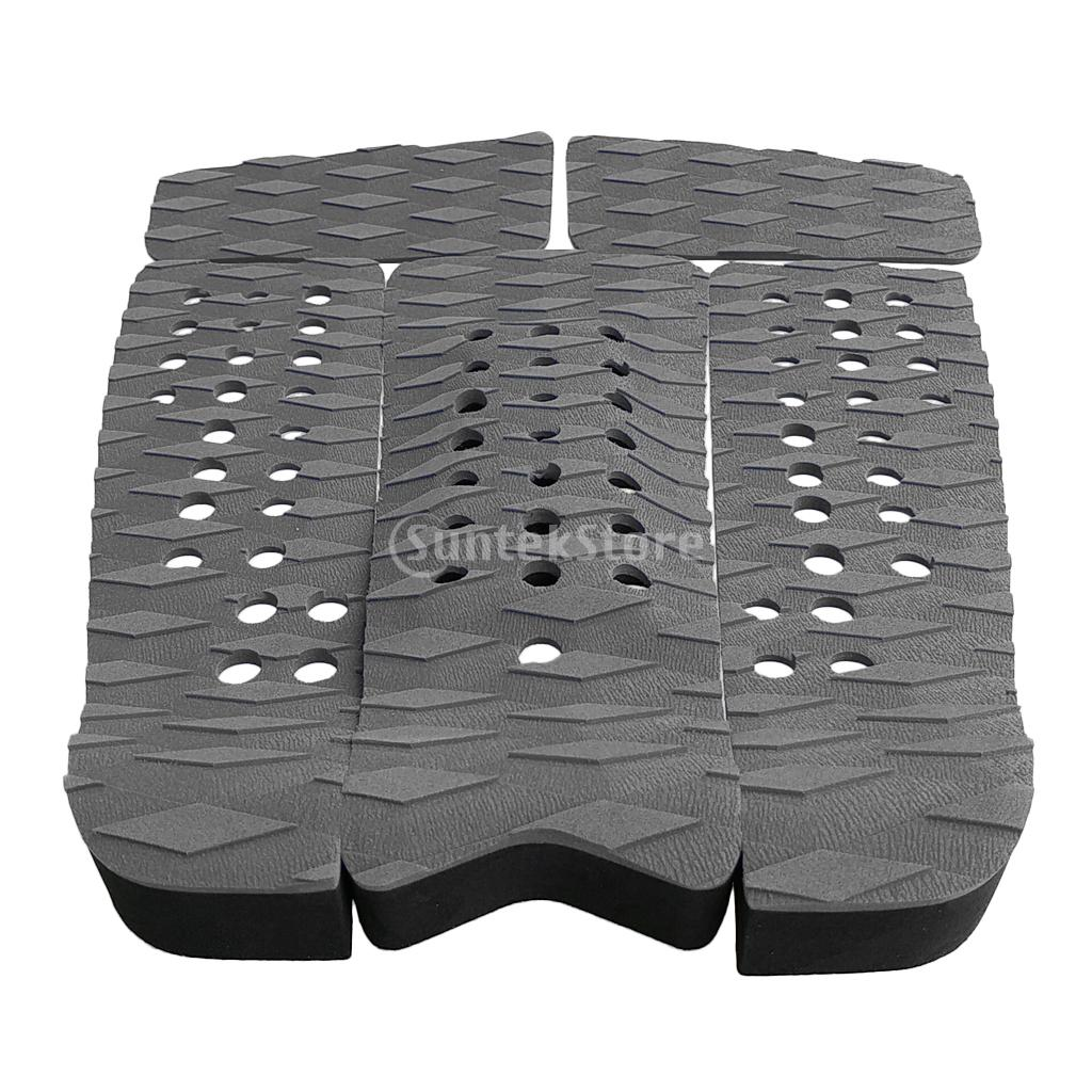 SUP 5Pcs EVA Front Foot Traction Pad for Surfboard Kiteboard Skimboard