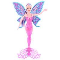 New Design Pink Purple Blue Color Fashion Mermaid Doll Moxie Girls Classic Mermaid Doll Toy For
