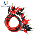 TL090 4mm banana plug 16AWG test leads stackable banana plug testing cable test leads