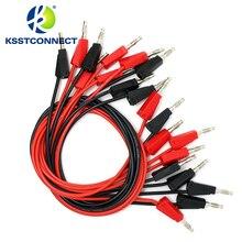 TL090 4mm muz fiş 16AWG test istiflenebilir muz fiş test kablo test uçları
