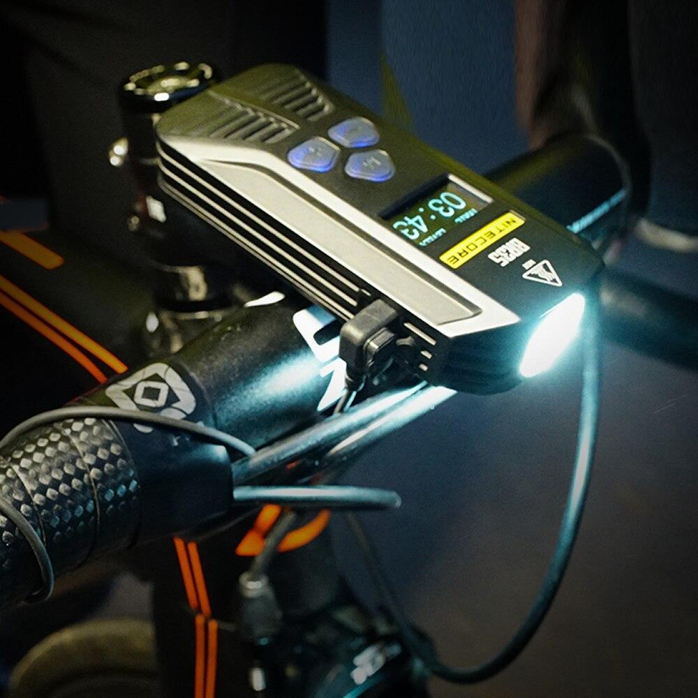 2019 оптовая продажа Nitecore BR35 1800LM CREE XML U2 двойной дистанционный перезаряжаемый велосипедный светильник, встроенный аккумулятор 6800 мАч