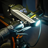 2019 Wholesale Nitecore BR35 1800LM CREE XML U2 Dual Distance Beam Rechargeable Bike Light Built In 6800mAh Battery Pack outdoor