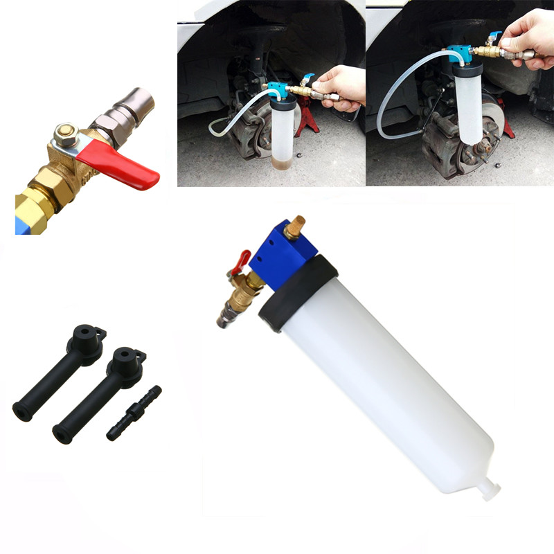 MAYITR Auto Car Brake Fluid Oil Change Replacement Tool Hydraulic Clutch Oil Bleeder Empty Exchange Tool Kit Diagnostic Tools car vehicle brake fluid replacement tool pump oil bleeder empty exchange equipment