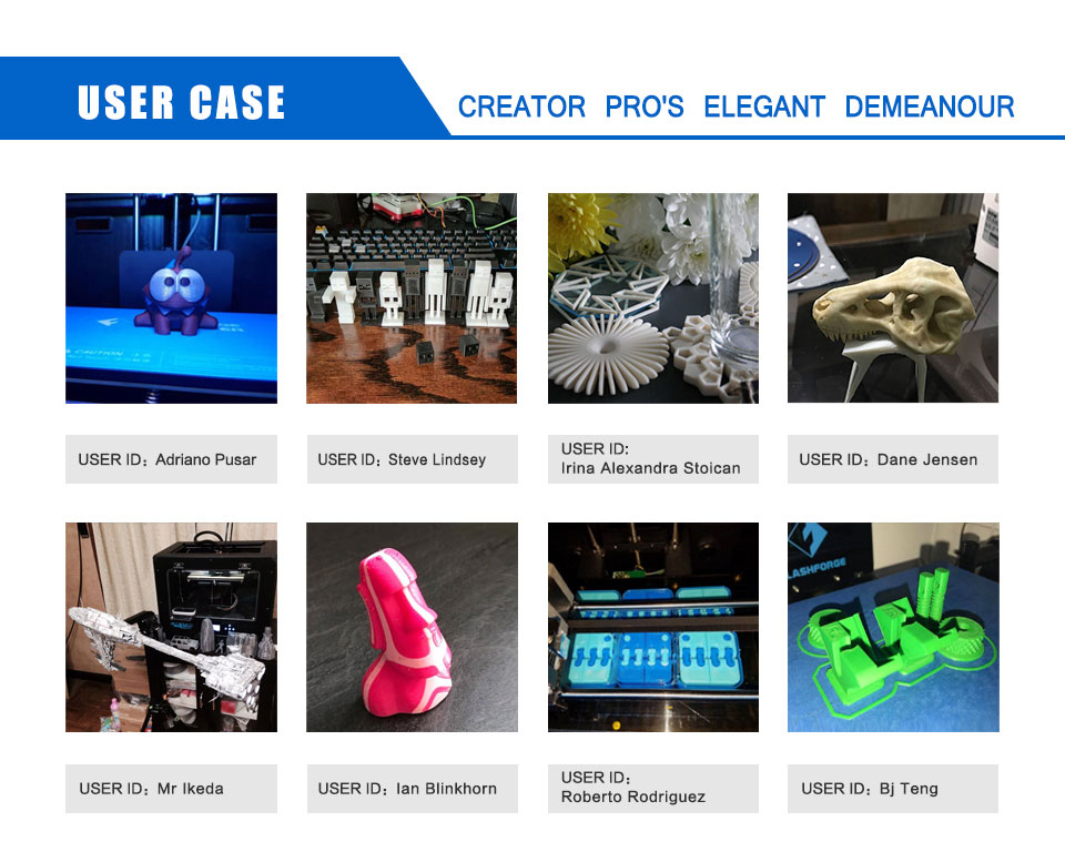 HTB1zMyWaMvD8KJjSsplq6yIEFXau FlashForge Creator Pro DIY 3D Printer