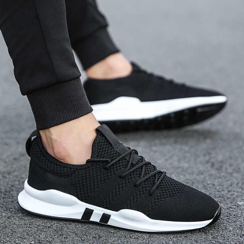 d8ea6290 Новый Для мужчин; повседневная обувь модные удобные мужские кроссовки  весенние дышащие снаружи Мужская обувь для