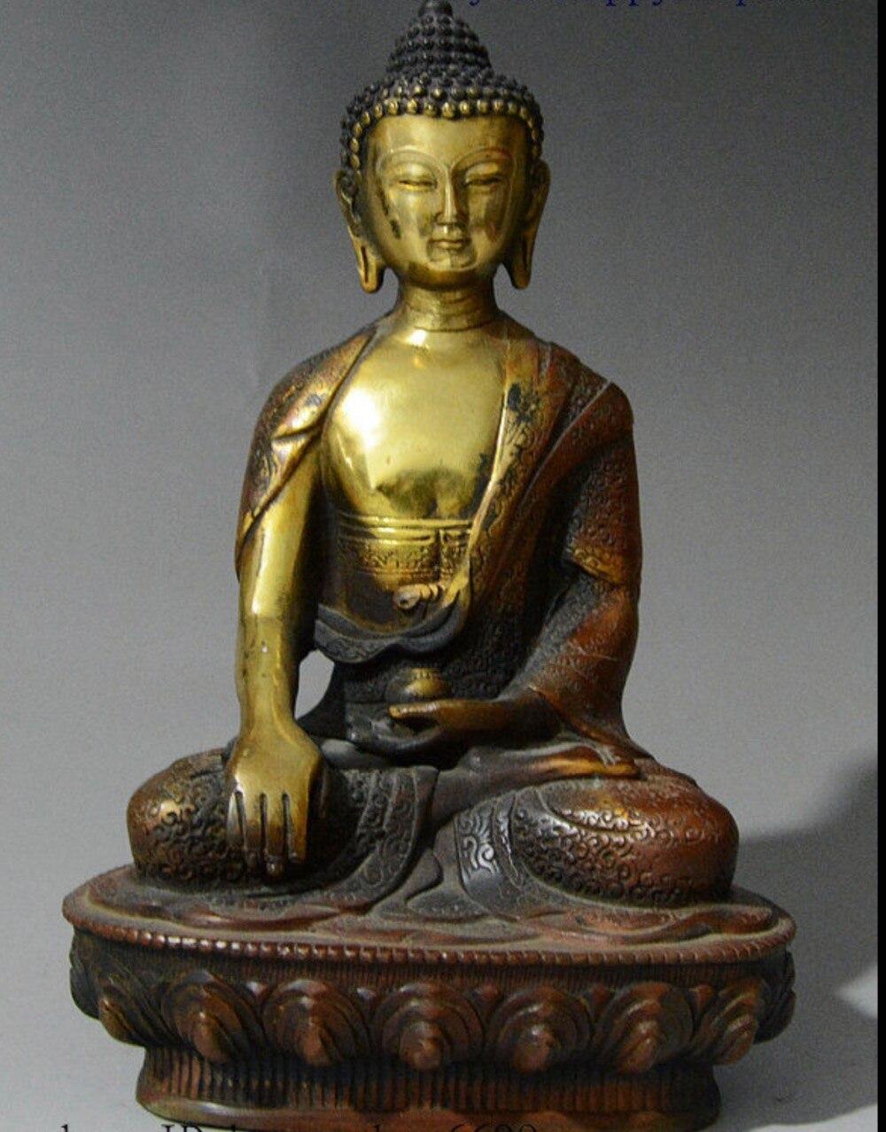 8 China Buddhism Pure Bronze Gilt Shakyamuni Sakyamuni Tathagata Buddha Statue8 China Buddhism Pure Bronze Gilt Shakyamuni Sakyamuni Tathagata Buddha Statue
