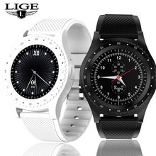 LIGE New Smart Watch Men Women Fitness Sport Watch Support With Camera Bluetooth SIM TF Card For Android IOS Reloj Hombre+Box(China)