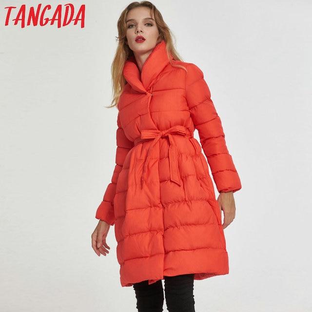 Veste manteau orange