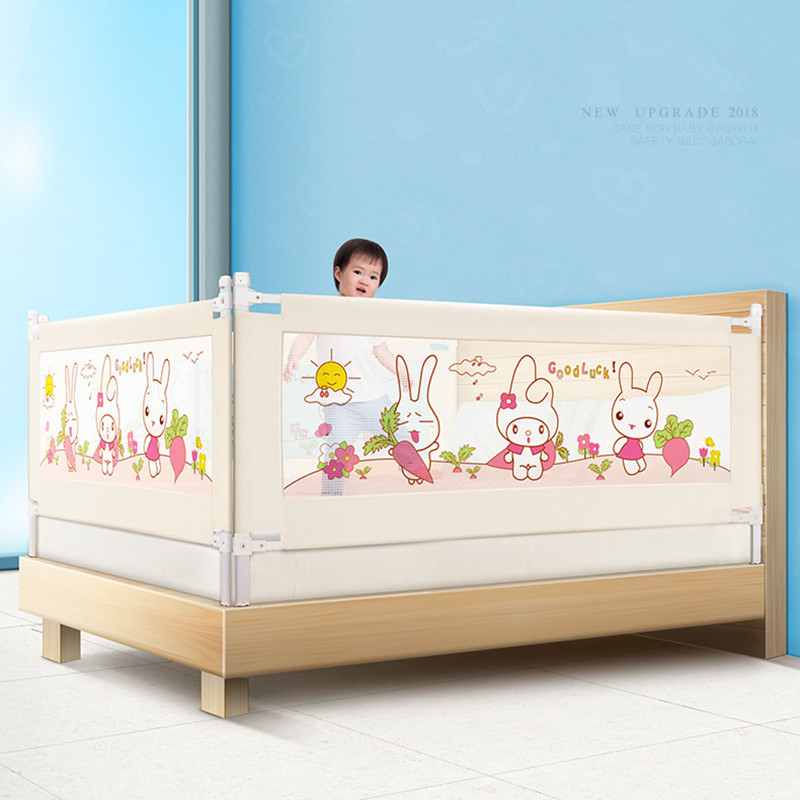 2018 Baby Bed Fence child Barrier Security Fencing for Children Guardrail Safe Kids playpen 14 2 pcs baby playpen fence fencing for children child game crawling security toddler ball pool toy playpen