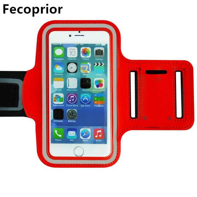 Fecoprior Armband for MEIZU M6 M5 M3 Note U20 X M3X E E2 Pro 6Plus 7Plus 5.5-5.7inch Sports Case Running ARM Band Belt Cover GYM