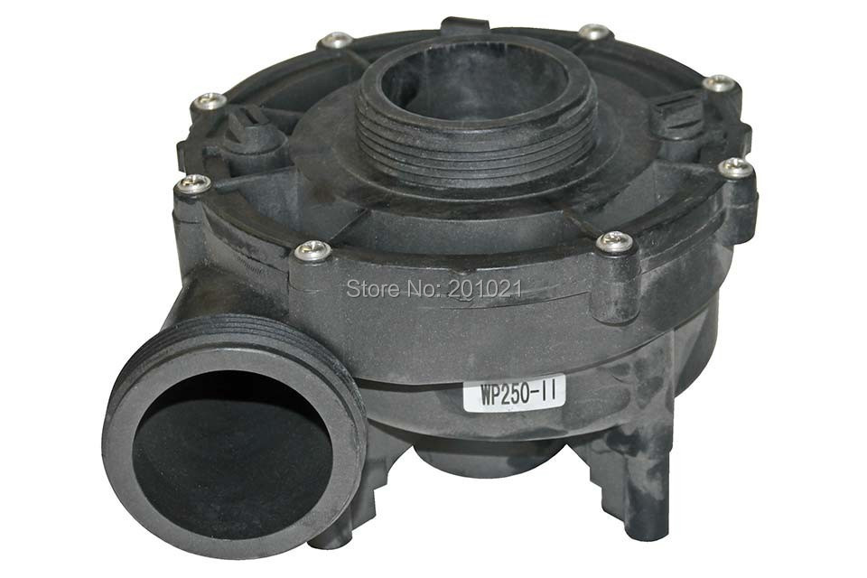 LX WP250-II Complete Pump Wet End part,including pump body,pump cover,impeller,seal,Spa Wet Ends Jazzi Wet End WP250-II