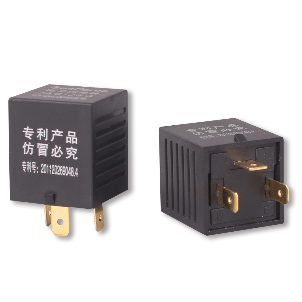 1 Piece 3 Pin Car Flasher Relay For 12v 24v Truck Microbus