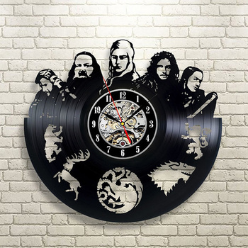 """Game of Thrones"" Vinyl Wall Clock"
