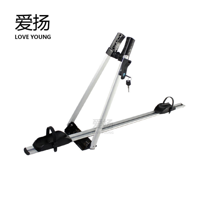 Bicycle rack for car Universal Car Styling Auto Roof top Rack Side Rails Bars Baggage Holder Luggage Carrier Aluminum Alloy