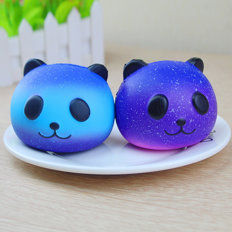 Cute Panda Squishy Slow Rising Squeeze Toys Funny Anti Stress Novelty Antistress Toys soft kawaii Kid Adult Gift