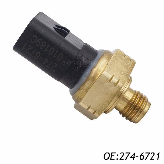 US 8 OFF 274 6721 2746721 Pressure Sensor Fits Caterpillar Heavy Equipment In Pressure Sensor From Automobiles Motorcycles On