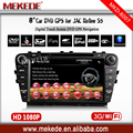 Two Din 7 Inch Car DVD Player for JAC Refine S5 with 3G GPS Bluetooth iPod TV Radio RDS V-CDC Free Maps+3G HOST+WIFI