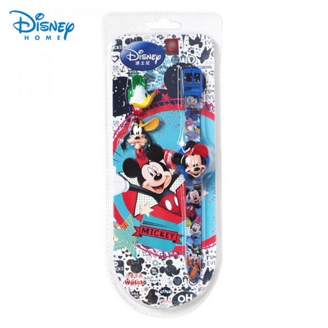 100% Genuine Disney Children Watch fashion boys girls silicone digital watch mic