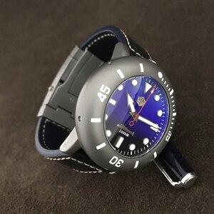 Image 2 - San Martin Männer Automatische Uhr Titan Fall Taucher Uhr 2000m Wasserdicht Leucht Lünette limited edition Mode Armbanduhr
