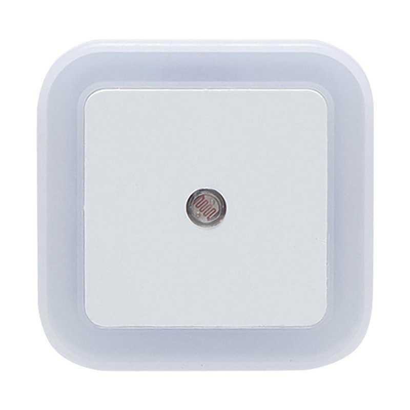 Hoomall 1 шт. EU/US штекер светодиодный ночник Авто вкл./выкл. Датчик управления ночными огнями домашняя спальня настенный светильник для маленьких детей