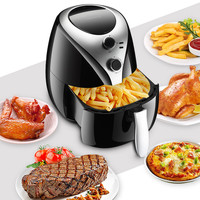 Fry Pan Air Fryer Frying Pan Electric Fryer Fries Machine Cooking Pot Barbecue Baking Dessert 5L Large Capacity No Fumes