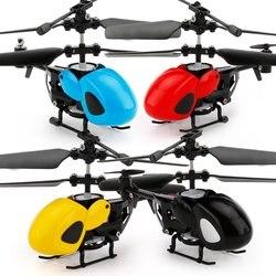 Mini RC drone latający helikopter USB ładowanie inteligentna na podczerwień sterowanie samolotem z nadajnikiem zabawka dla dzieci dorośli