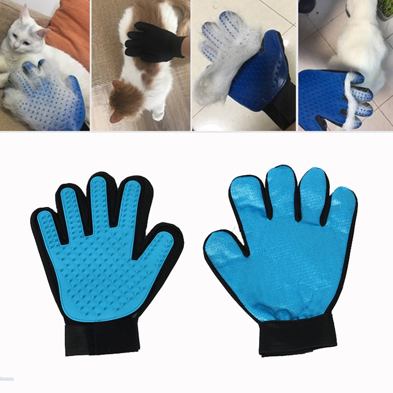 Hair-Removal-Gloves Pet-Toothbrush Massage-Bath Car Silicone Anti-Static Sofa Multi-Function