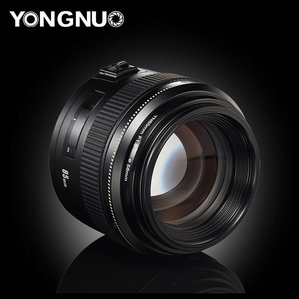 YongNuo YN85mm объектив камеры f1.8 AF/MF Стандартный Средний телеобъектив с фиксированным фокусным расстоянием для Canon EF Mount EOS camera s