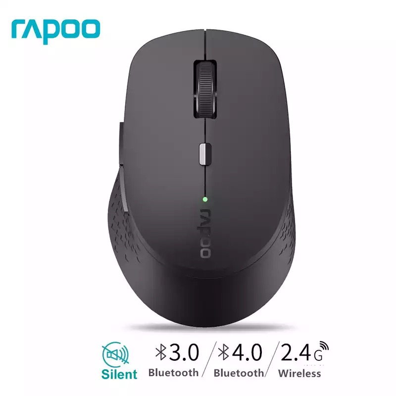 Rapoo Wireless Mouse Connection Three-Devices Multi-Mode Silent Bluetooth-3.0/4.0 1600DPI