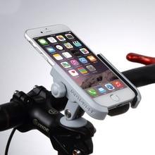 อลูมิเนียม Handlebar จักรยาน Stem CAP Mount กระจกโทรศัพท์มือถือโทรศัพท์มือถือผู้ถือ Grip สำหรับ 4 6 นิ้วโทรศัพท์มือถือ GPS