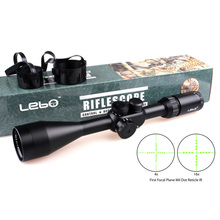 Tactical LEBO TC 4-16X50 IR First Focal Plane Side Parallax Mil-dot Rifle Hunting Shooting Scopes