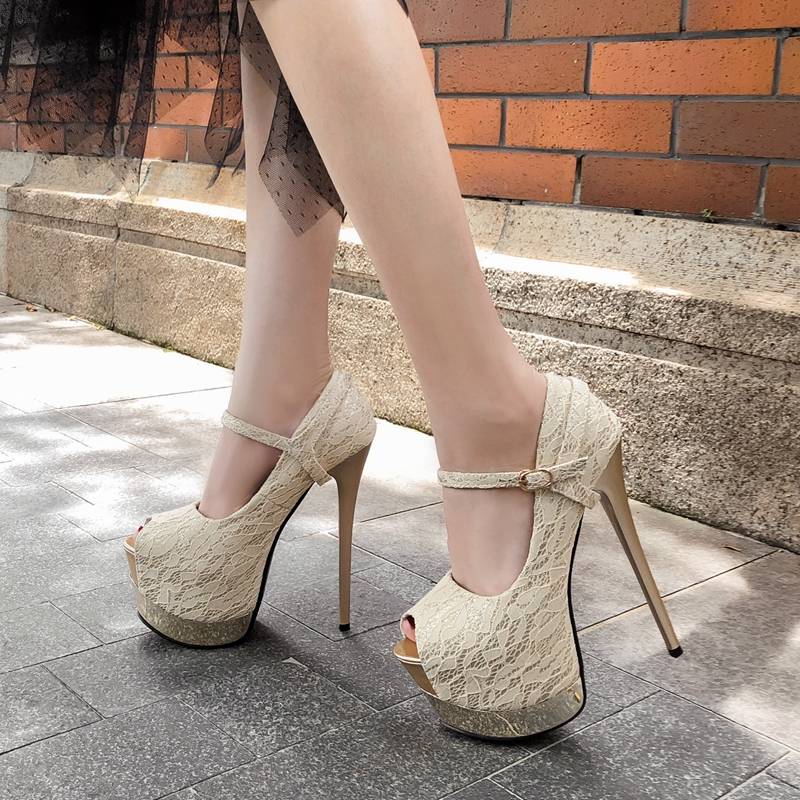 69f008d866 All kinds of cheap motor extreme high heels peep toe in All B