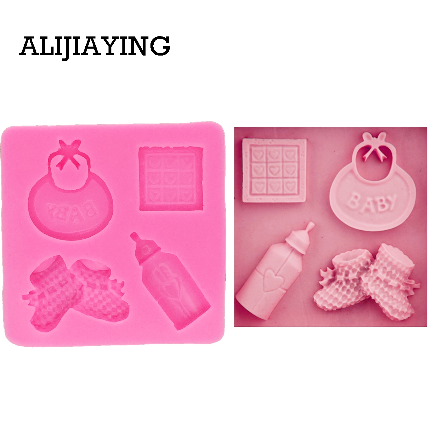 LADIES SHOES SILICONE MOULD FOR CAKE TOPPERS CHOCOLATE CLAY ETC