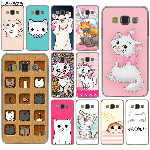 Lavaza The cartoon AristoCats Marie Cats cat Hard Case for Samsung Galaxy S10 S10E S8 Plus S6 S7 Edge S9 Plus Cover