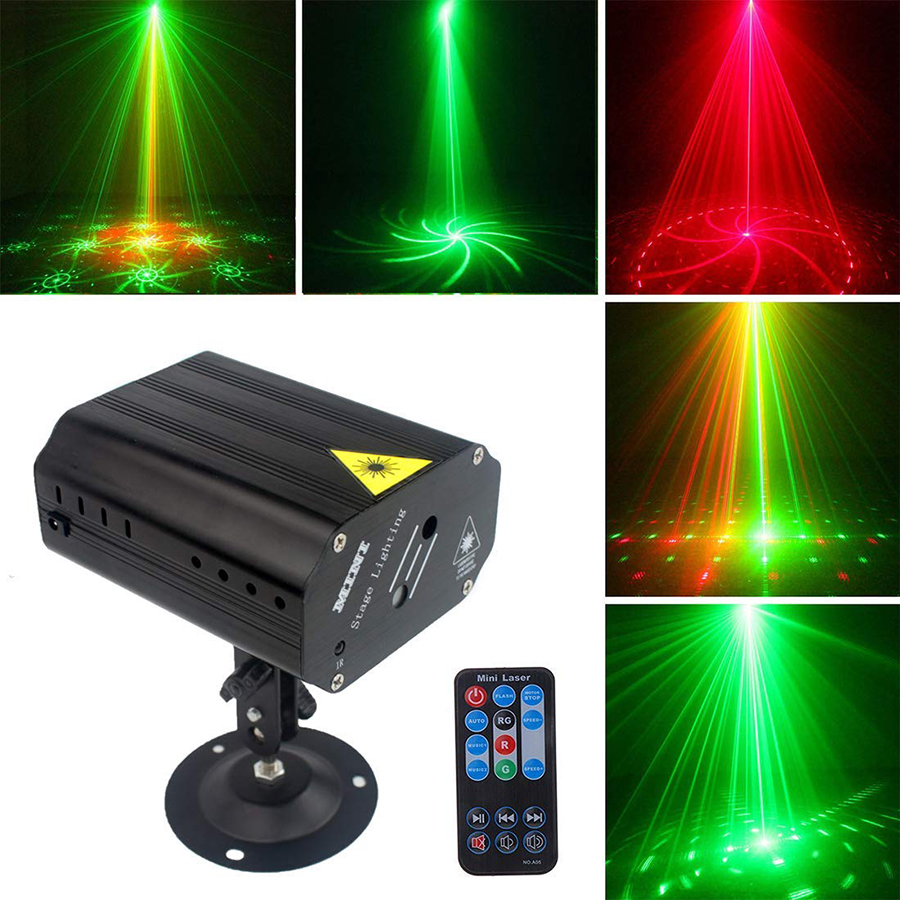 24 Patterns LED Laser Projector Laser Disco Light Voice activated Christmas DJ Disco Party Club Light Stage Effect Lighting24 Patterns LED Laser Projector Laser Disco Light Voice activated Christmas DJ Disco Party Club Light Stage Effect Lighting