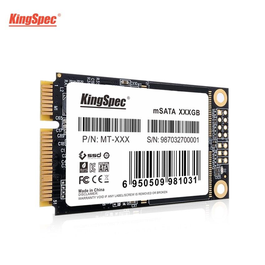 Hotselling MT-128 KingSpec 32 GB 64 GB 256 GB mSATA SSD 512 GB 1 TB Mini mSATA unidad de estado sólido módulo HD para equipos de sobremesa portátil servidor