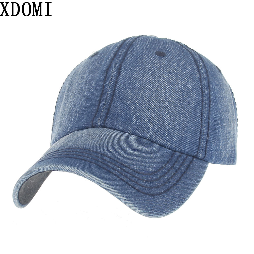 2017 Fashion Men Women Snapback Hat Casual Retro Jeans Baseball caps Adjustable Visor Bone Denim Hats outdoor Sport Caps brand bonnet beanies knitted winter hat caps skullies winter hats for women men beanie warm baggy cap wool gorros touca hat 2017