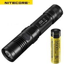 NITECORE EC20 960 люменов CREE XM-L2 T6 фонарик водонепроницаемый Гладкий трубчатый корпус 18650 Кемпинг портативный факел