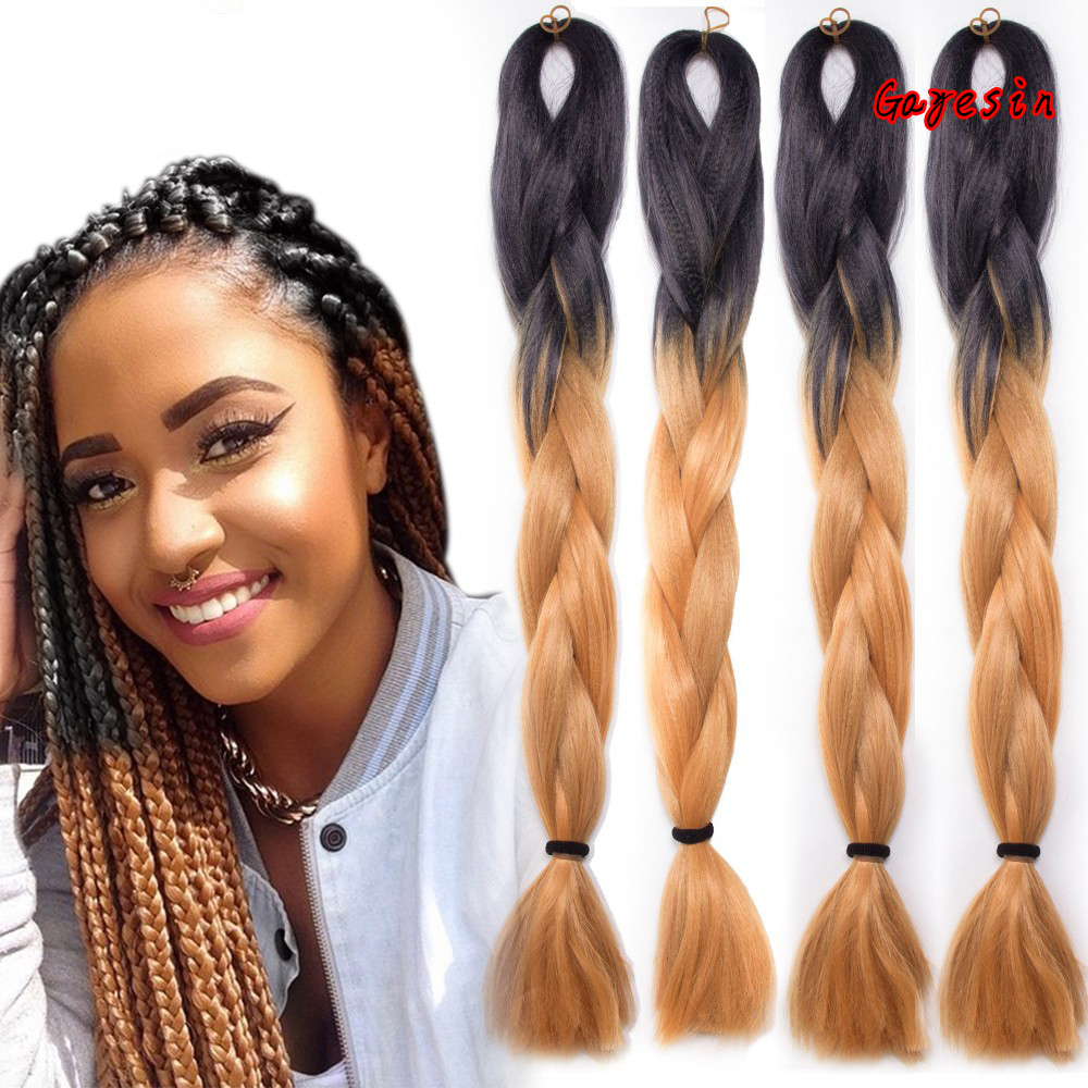 Silky 24 Quot 60cm 100g Ombre Jumbo Braids Hair Extension