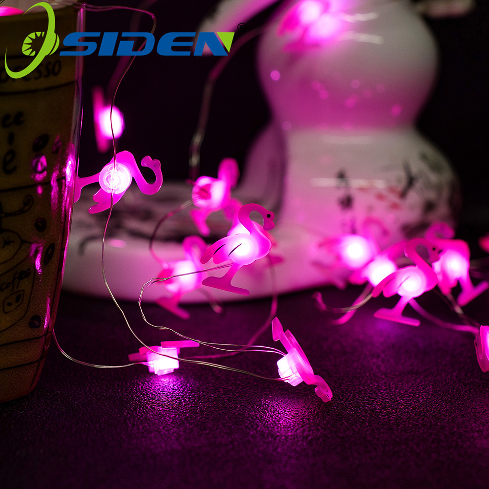 Flame Bird Holiday Light Christmas 10/20/50LED Fairy Lights Outdoor AA BatteryUSB Powered Garland String Lights Decorative