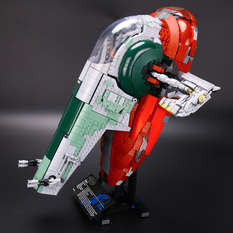 New LEPIN 05037 UCS Slave I Slave NO.1 Model 2067pcs Building Block Bricks Funny Toys Kits Compatible With 75060 Children Gifts lepin 22001 pirate ship imperial warships model building block briks toys gift 1717pcs compatible legoed 10210