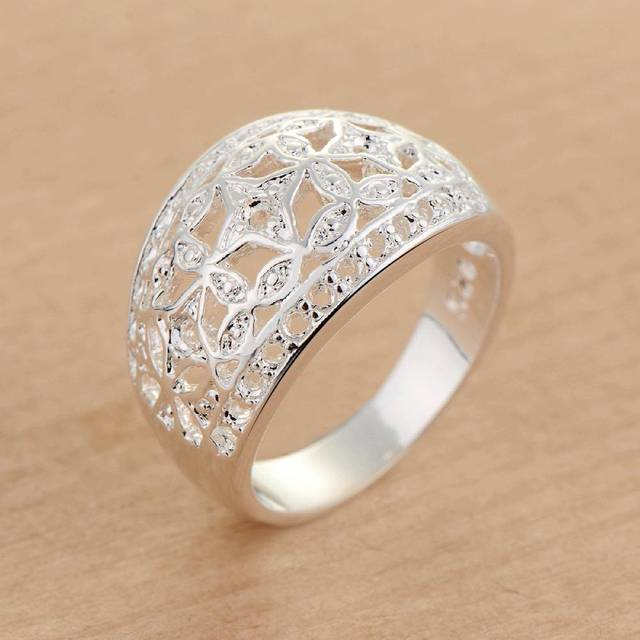 classic arc carve pattern Wholesale 925 jewelry silver plated ring ,fashion jewelry Ring for Women, /WKZOAFHM SDYGAAWY