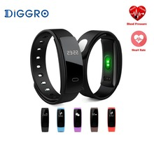 QS80 Smart Band Blood Pressure Measure Heart Rate Monitor Pedometer Watch Pulse Fitness Tracker Intelligent Bracelet Connected
