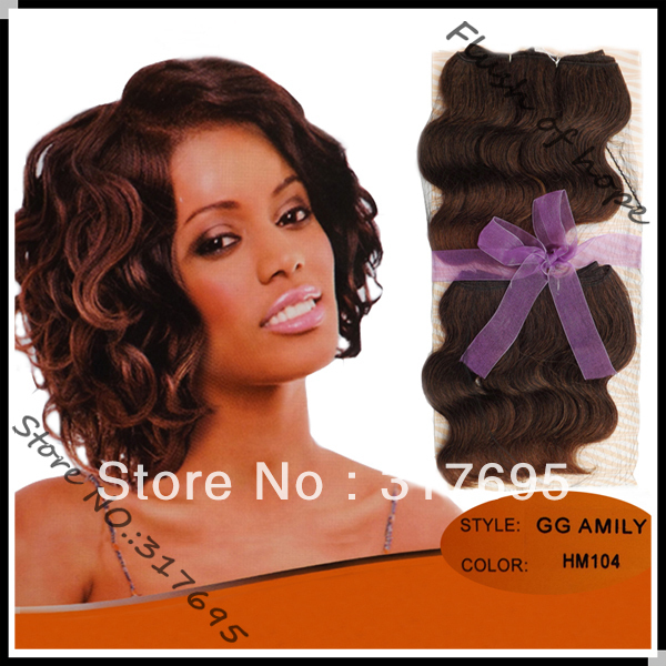 Free Hair Bun Noble Gold Amily Wavy Synthetic Hair Weaving Weave